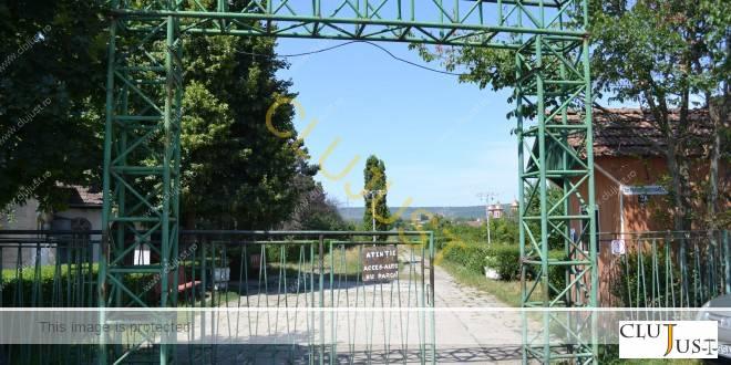 Intrarea in parc