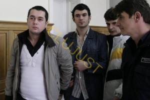 Hosu și Baciu, la momentul arestării preventive. (sursa foto: cotidianul.ro)