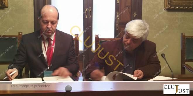 decani cluj si barcelona semnare acord infratire