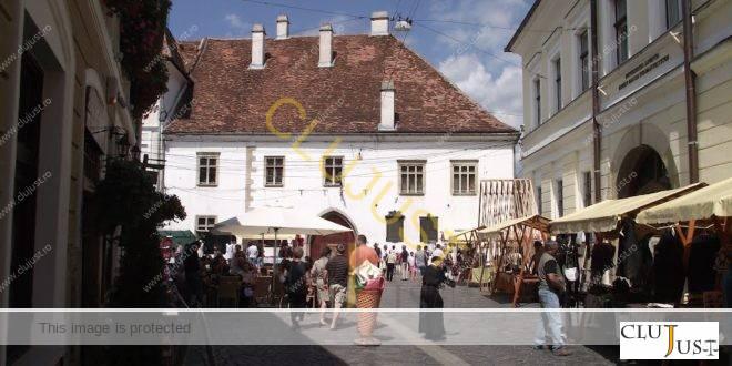 Geantă furată dintr-un local din centrul Clujului la ora 6 dimineața