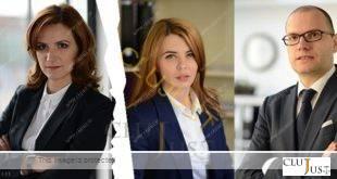 Milena Nistorescu (stânga), Cristina Boncaciu și Horațiu Crișan