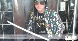 Tânărul violent de pe Aleea Gârbău (sursa foto gazetadecluj.ro)