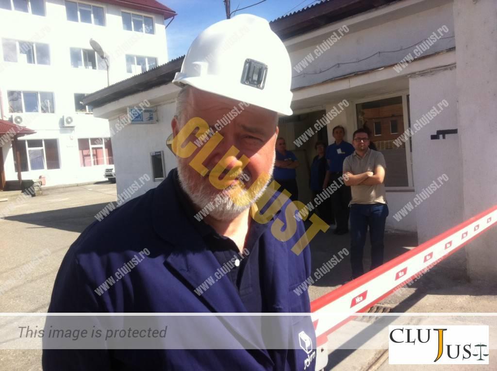 Directorul Ocna Dej, Georgel Mihuț