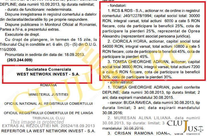 Extras din Monitorul Oficial nr.203 din 14.01.2014
