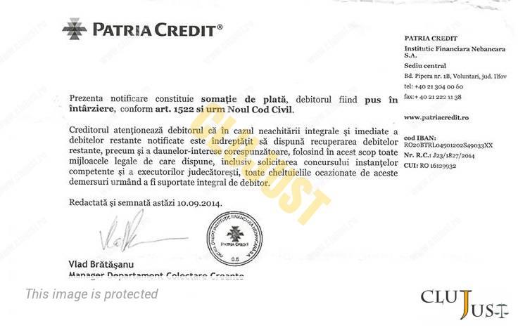 somatie patria credit 2