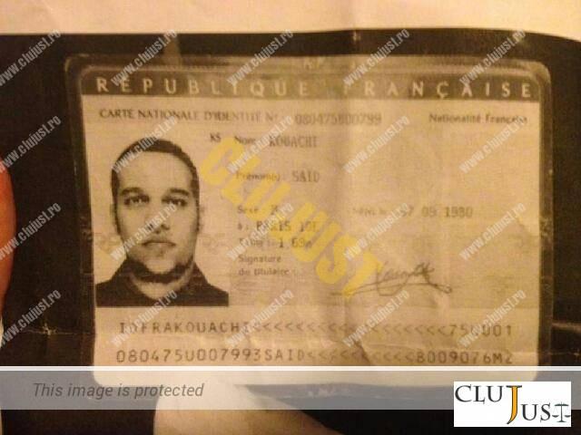 said kouachi carte identit