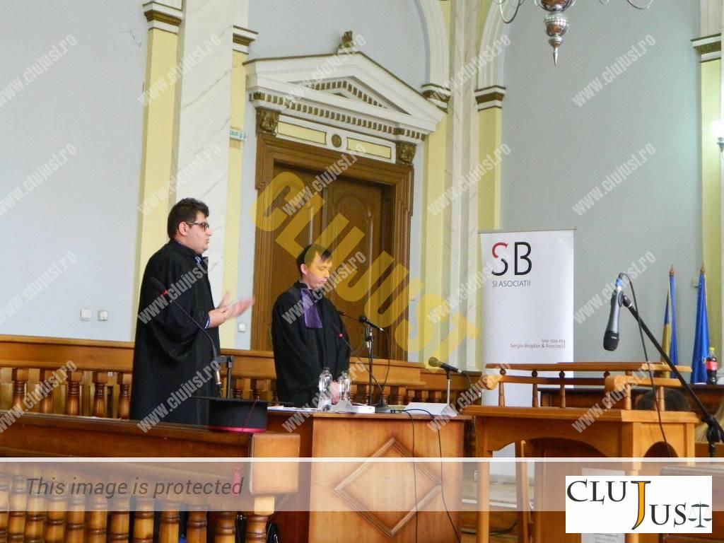 Echipa din Cluj de pe locul II