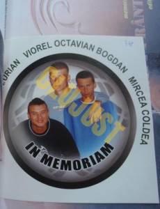 Cei trei tineri morți în accident în 2006