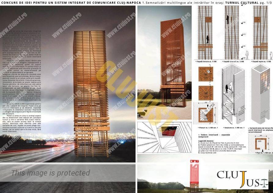 proiect intrari in oras