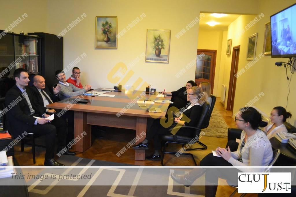 O mică ședință la SCA Iordăchescu & Asociații