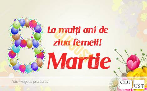 felicitare ziua femeii
