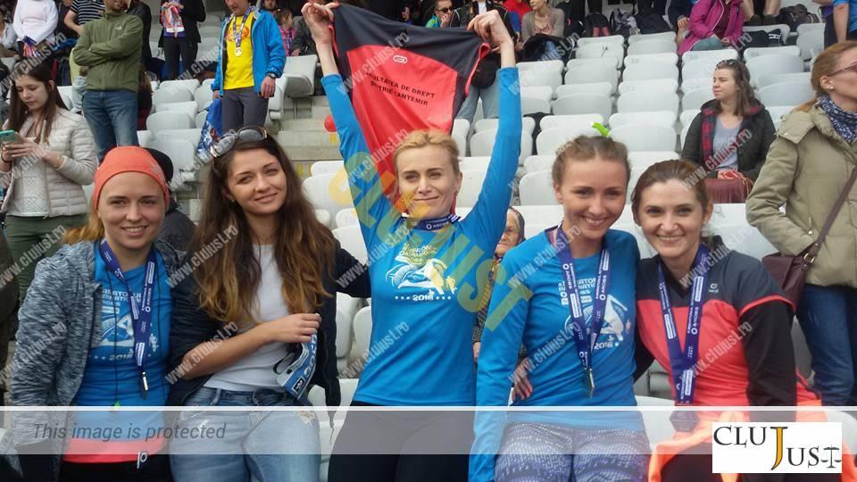 echipa facultatea de drept dimitrie cantemir maraton (2)