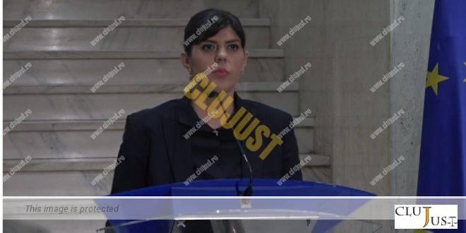 Inspecția Judiciară a exercitat acțiune disciplinară față de șefa DNA, Laura Codruța Kovesi