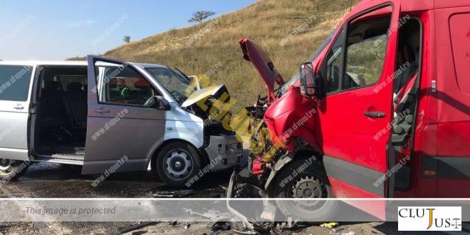 Accident grav la Camarasu. S-a intervenit cu elicopterul