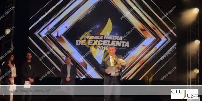 Avocatul sportiv Călin Budișan, premiat de Clujust la Gala Premiile Media de Excelență 2018 VIDEO