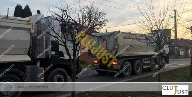 În Florești nu se plătește taxă pe mașinile de mare tonaj din cauza firmei unui turc