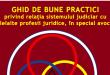 Ghidul de bune practici privind relația sistemului judiciar cu celelalte profesii juridice e adoptat și de UNBR