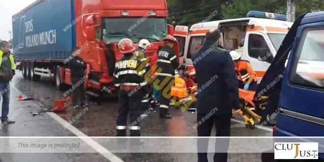 Șofer de TIR, condamnat definitiv de CA Cluj la 2 ani închisoare cu executare pentru ucidere din culpă
