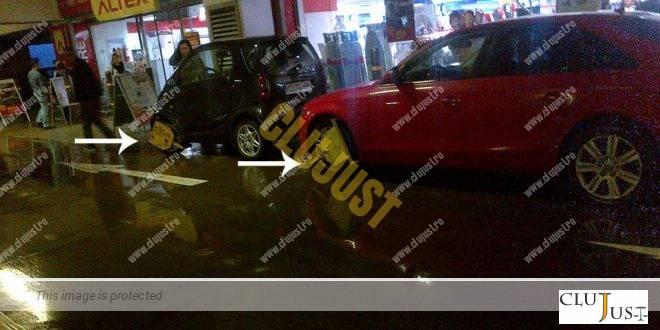 Proprietarul unei mașini a atacat în instanța taxa pentru deblocarerea roților din parcarea Iulius Mall Cluj