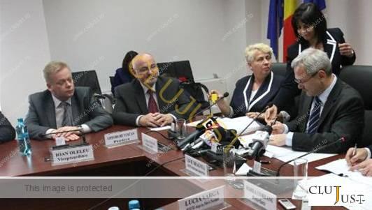 Ioan Oleleu și Gheorghe Vușcan la întâlnire cu vicepremierul Liviu Dragnea