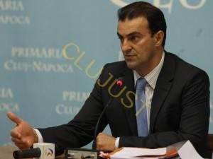 Sorin Apostu, pe cand conducea Primaria Cluj-Napoca