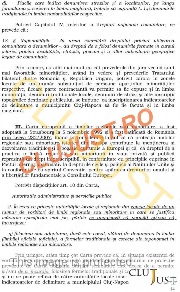 pagina 14 sentinta placute bilingve