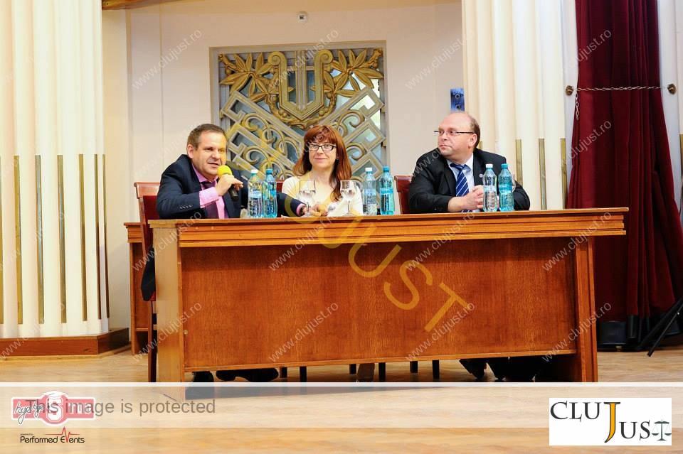 Alături de profesorii Gheorghiță Mateuț și Florin Streteanu