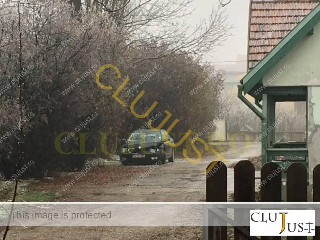 Mașina senatorului Nicoară a fost avariată în partea din față