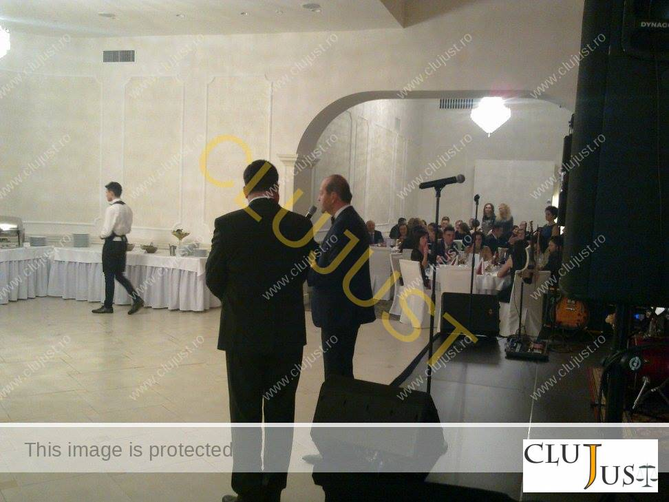 Decanul Baroului Cluj, Mircea Pop, a ținut un discurs