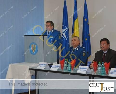 Col. Florinel Budișan, șeful Jandarmeriei Cluj,