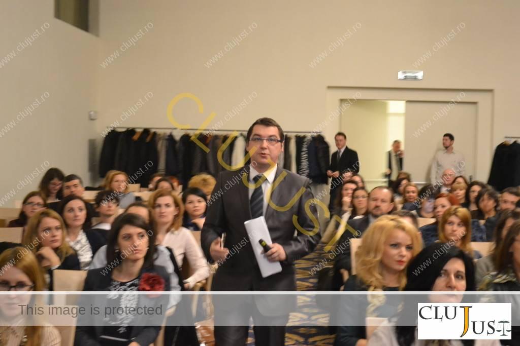 Ciprian Păun a avut un discurs energic, plimbându-se printre avocați