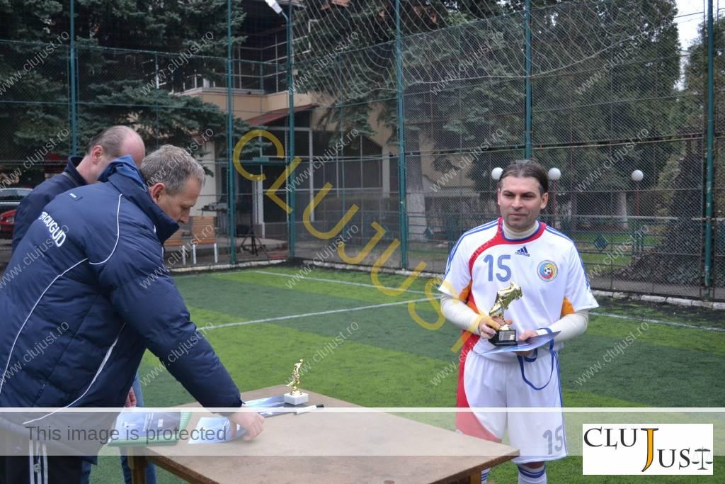 Ciprian Roman (zis Piticu pe teren) a fost cel mai bun jucător