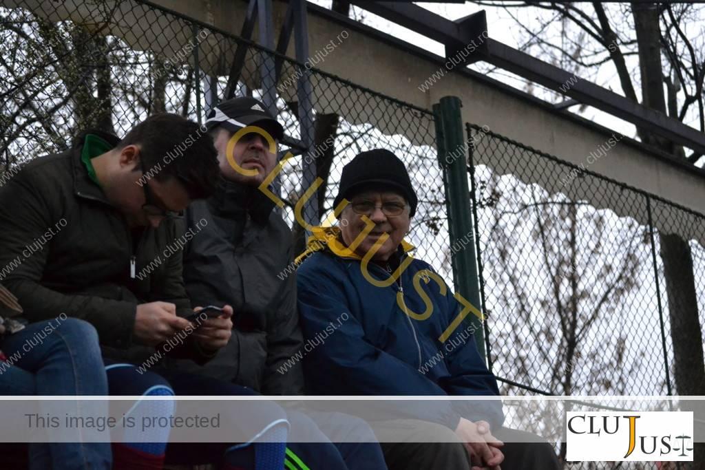 Dragoș Cojocaru, alături de Mircea Pop, decanul Baroului Cluj