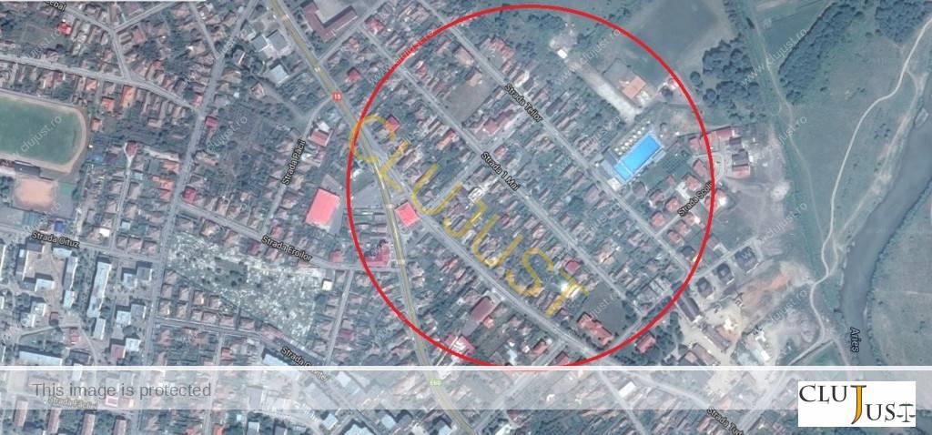 Zona din Câmpia Turzii pentru care s-au acordat despăgubiri