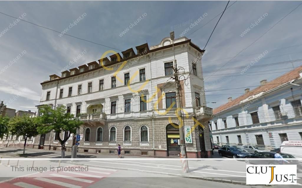 În această clădire este adresa declarată în Cluj de firma Evesham