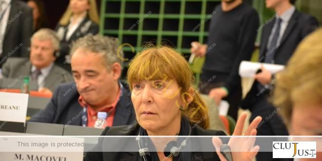 Monica Macovei (foto CLUJUST.ro)
