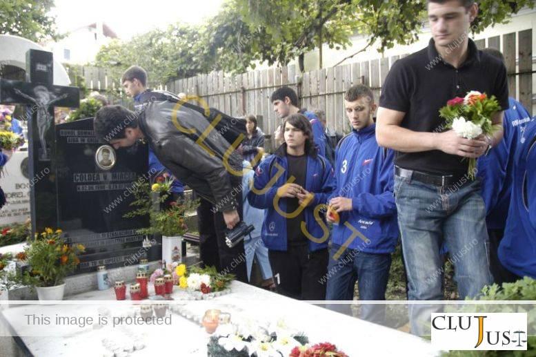 Momântul lui Mircea Coldea
