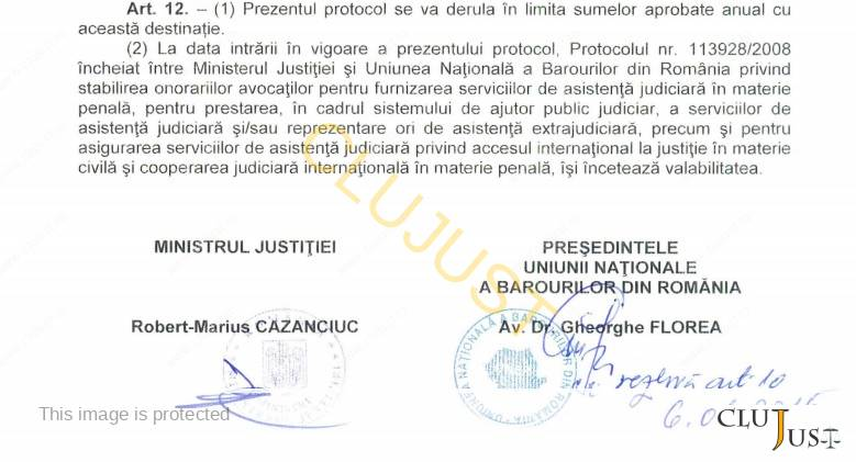 protocol oficii semnaturi