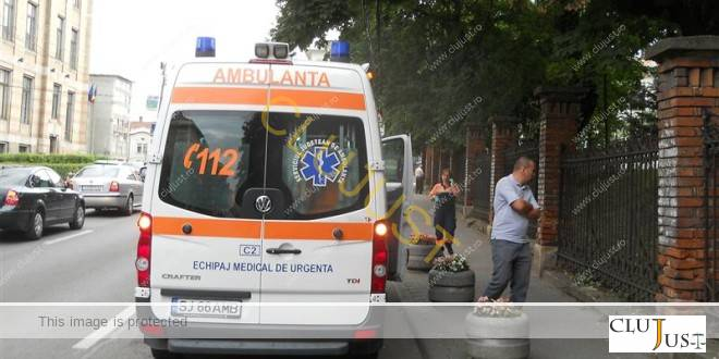 Un hoț cu obraz gros a furat dintr-un spital de pe strada Clinicilor