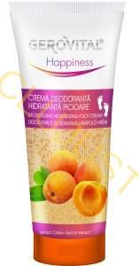 Gerovital Happiness Crema deodoranta picioare