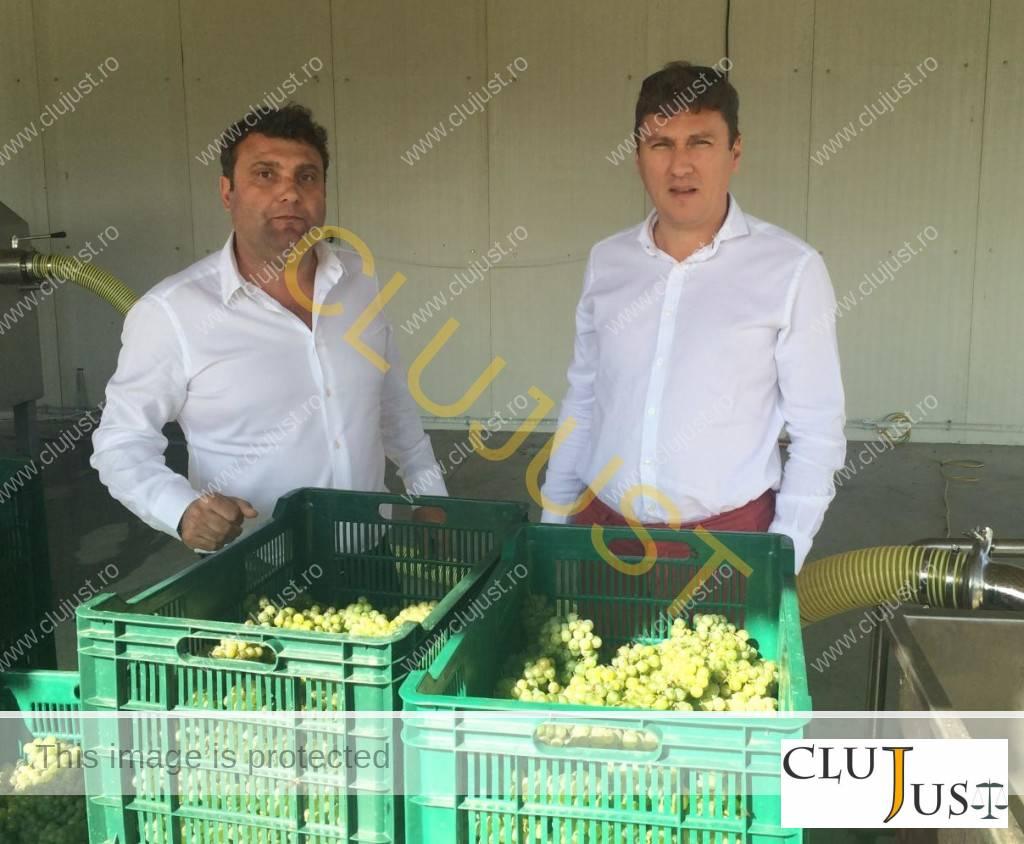 Simion Mureșan și Claudiu Șugar (sursa foto ziardecluj.ro)