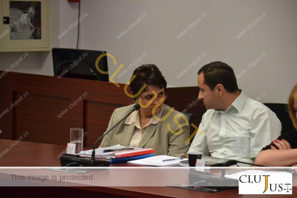Simona Gaci și Ștefan Iliescu
