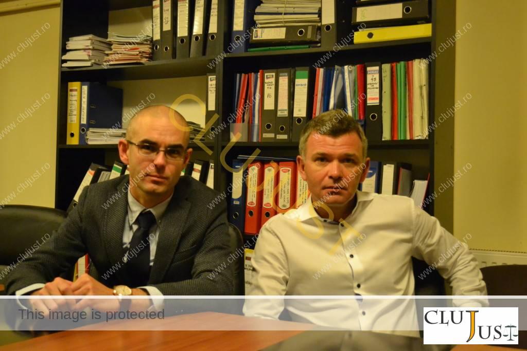 Avocații Daniel Nițu și Alexandru Coroian