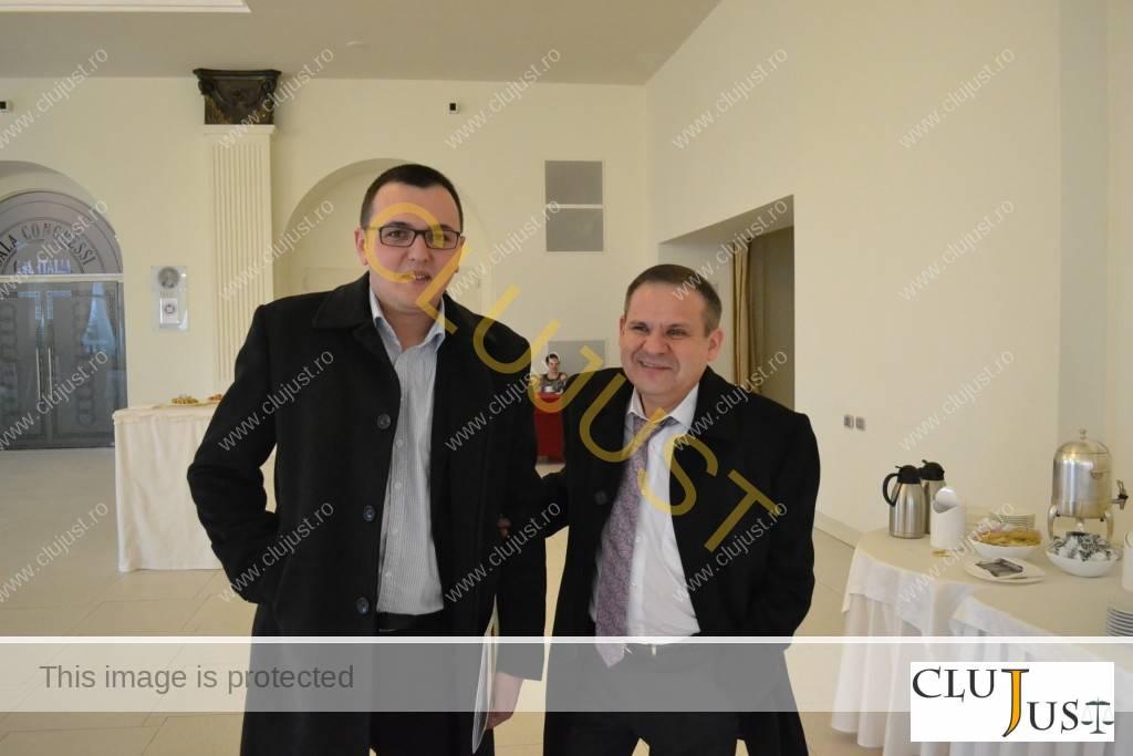 Lucian Criste și Gheorghiță Mateuț