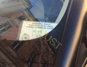 masina range la tribunal cu ecuson parchet (4)