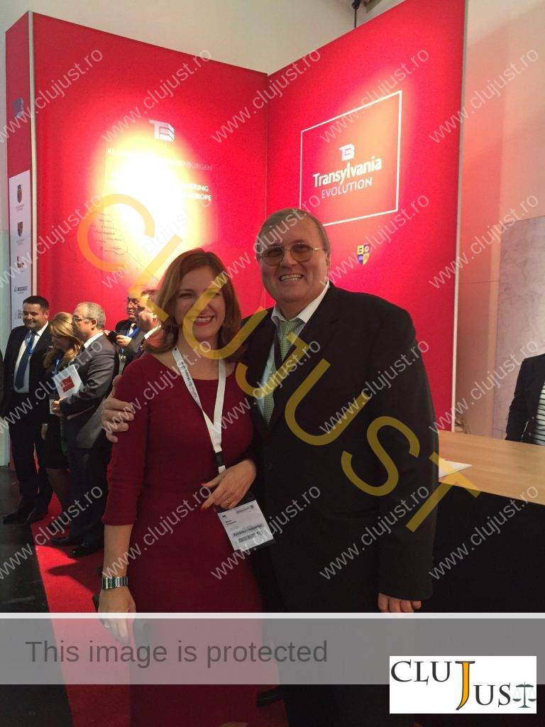 Milena Nistorescu și un investitor străin