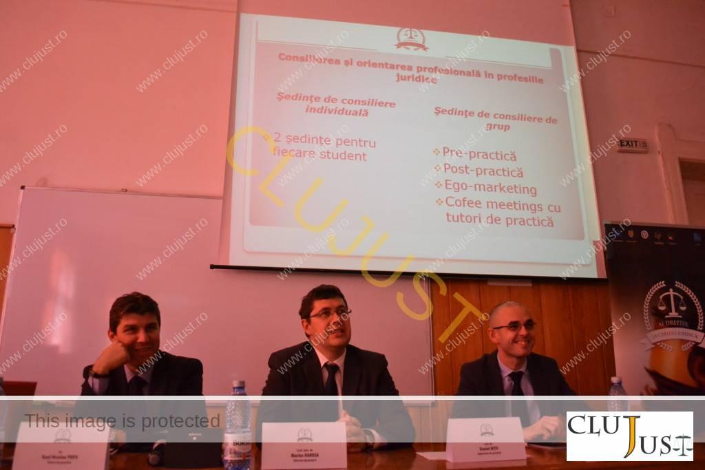Avocații Raul Popa, Liviu Marius Harosa și Daniel Nițu
