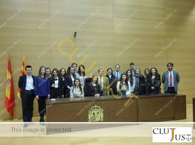 Studenții la Zaragoza