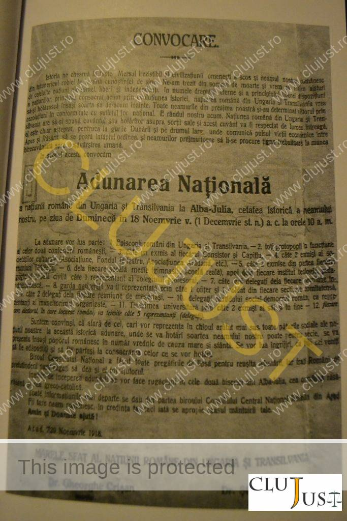 convocator adunarea nationala