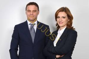 Radu Șomlea și Milena Nistorescu